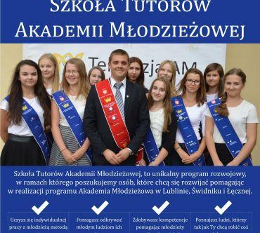 Szkoła Tutorów Akademii Młodzieżowej - Dołącz do nas