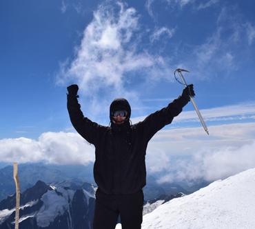 Rowerem z Lublina na Mont Blanc