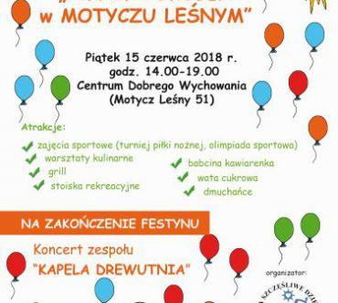 Festyn sportowo-rekreacyjny – Piknik Pokoleń w Motyczu Leśnym
